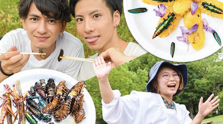 ゴキブリ炒飯に玉虫スイーツ!?美味しい昆虫料理で「食」の未来を考える